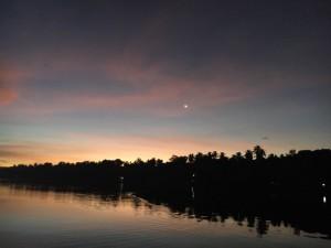 lever du soleil backwaters