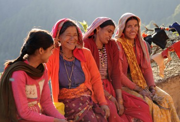 Ladies in Binsar